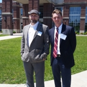 Supply Chain Students Rick Harris and Blake Morgan