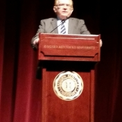 CBT Dean Tom Erekson brings greetings from EKU