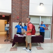 Fall 2012 MMIB student organization rally