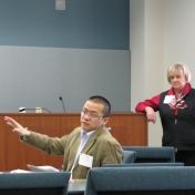 Dr. Weiling Zhuang and Dr. Lana Carnes
