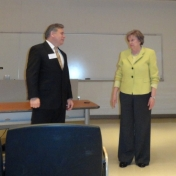 Dr. Will McIntosh and Dr. Lana Carnes, MMIB Chair