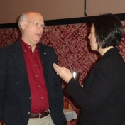 Dean Rogow and Ms. Laura Barthel