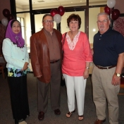 Dr. Faridah Awang, Dr. Allen Engle, Dr. Teresa McGlone, and Dr. Rich Powers
