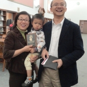 Drs. Xiao and Zhuang with son
