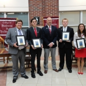 MMIB Outstanding Seniors, Distinguished Alumnus, and Senior Vice President for A