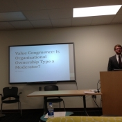 Mr. Ian Hopkins on Value Congruence: Is Organizational Ownership Type a Moderato
