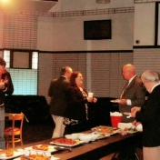 Reception at Gillum's Sports Lounge