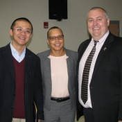 Dr. Weiling Zhuang, Ms. Tonya Jackson, and Mr. Kirby Easterling
