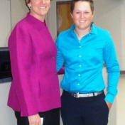 Ms. Nicole Henry with Ms. Sharon Ritchey