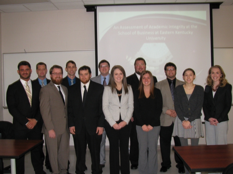Dr. Polin's GBU 480 Business Strategy class
