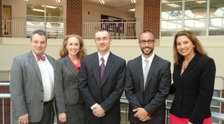 Welcome New Faculty: Dr. Fore, Dr. Polin, Mr. Boutin, Dr. Dust, and Dr. Hood
