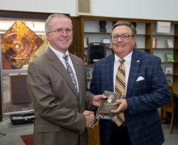 President Whitlock and Dr. Engle