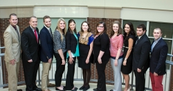 Fall 2014 Maroon SHRM Officers