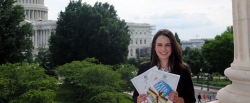 Madison Pergrem in Washington, D.C.