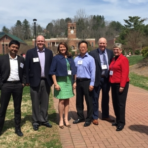Pictured is the ARBS Planning Committee (L to R):  Prashun Bhattacharjee (ETSU),