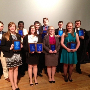 EKU PBL award winners at the 2017 Academic Competitions