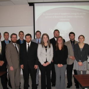 Dr. Polin's MGT 480 Business Strategy class